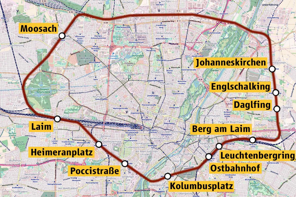 Grafik: Max Büch, Material: OpenStreetMap